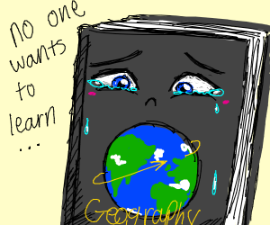no one wants to learn geography