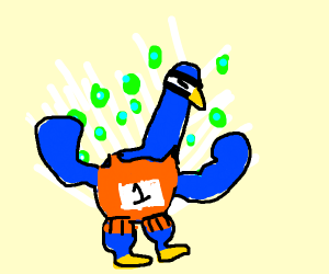 Athletic Peacock