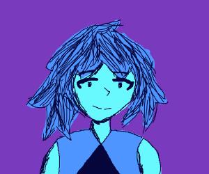 blue girl in a supernova (RIP)