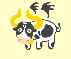 Mutant cow