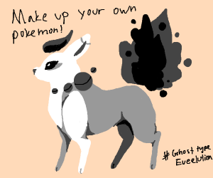 Make up your own pokemon!