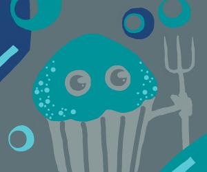 Muffin's got a fork