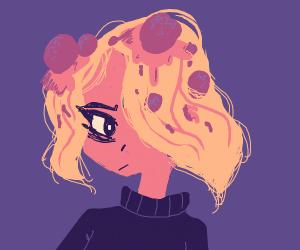 spaghetti hair emo