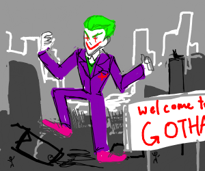 Joker just leveled a city