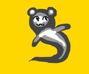 Happy ghost monkey