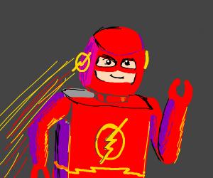 LEGO The flash.
