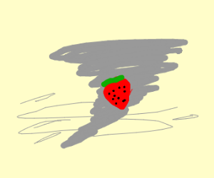 Strawberry in a Cyclone