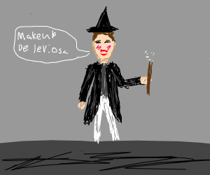 James Charles as a wizard