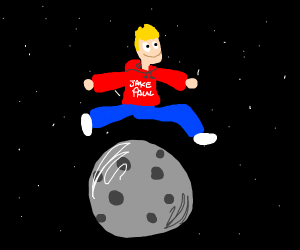 jake paul jumping over the moon