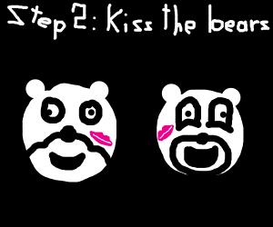 Step 1: Feed the bears