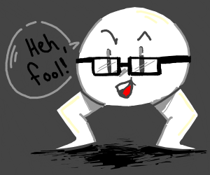 face with glasses