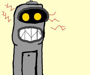 Robot malfunctioning