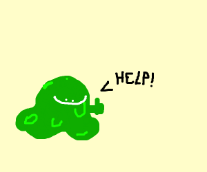 Blob happy to ask for help