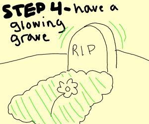 Step 3 - Die of radiation poisoning