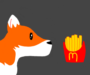 fox has spotted the french fry