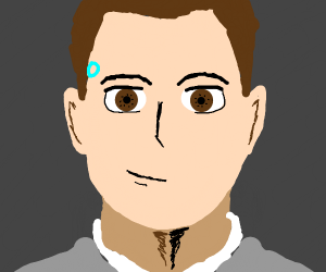 Connor the android sent by CyberLife