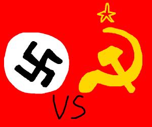 Nazism vs communism