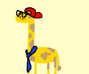 Old School Giraffe