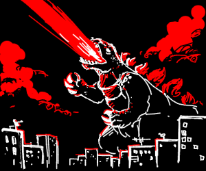 the king of monsters, godzilla