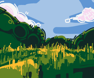luscious grass field