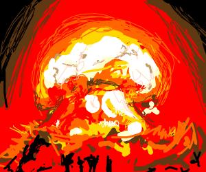 Tragic Nuclear Explosion