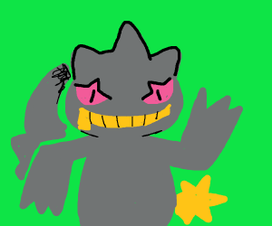 worrying banette is a starter