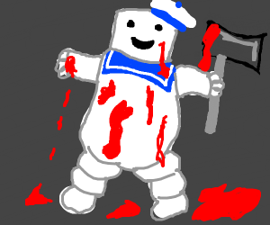 Bloody Stay Puft Marshmallow