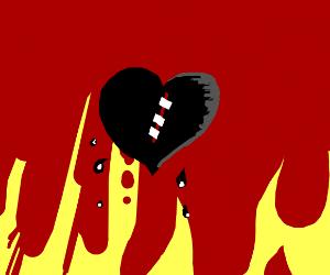 Emo heart