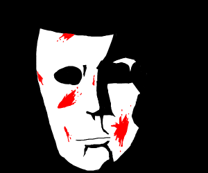 White Bloody Mask