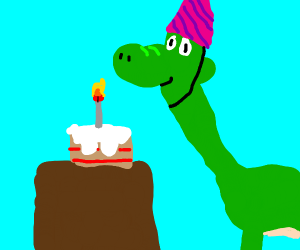 dinosaur's birthday