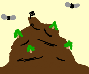 Poo mountain