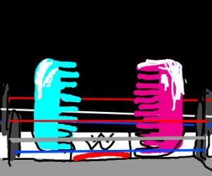 Wrestling comb