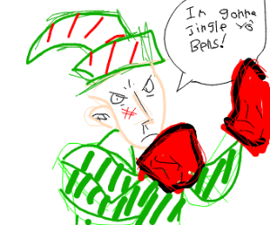 Boxing elf