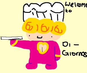Chef Giorno Giovanna