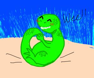 Dinosaur Bouncing