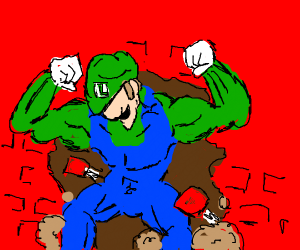 Luigi Crashes