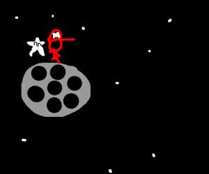 Supermario in space