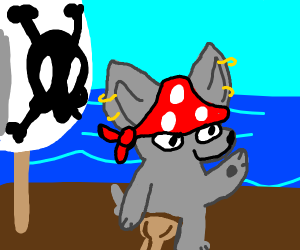 pirate wolf
