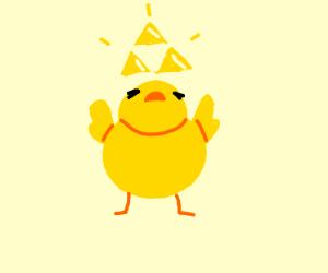 Triforce bird