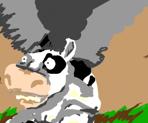 cow in a tornado