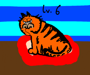 A lvl 6 Garfield