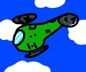 picture of a helicopter