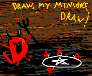 Drawception is actually a satanist cult