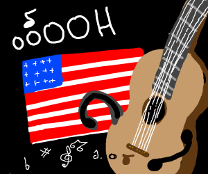 Guitar singing to u s