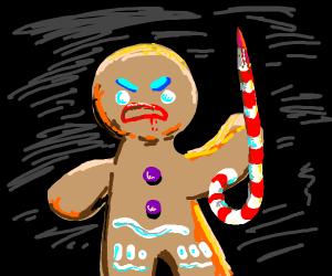 last gingerbread man standing