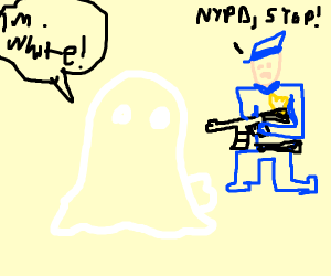 ghost being assaulted