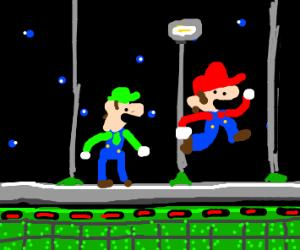 Mario and Luigi Star Hill