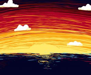 A beautiful sunset :o
