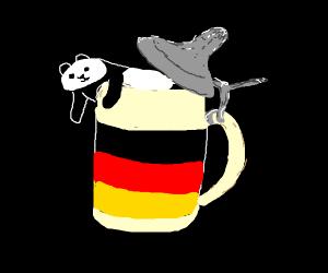 German Bear Mugs