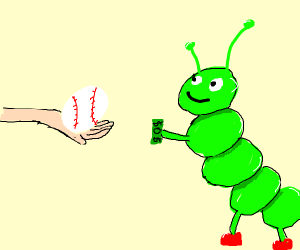 Caterpillar buying a Baseball